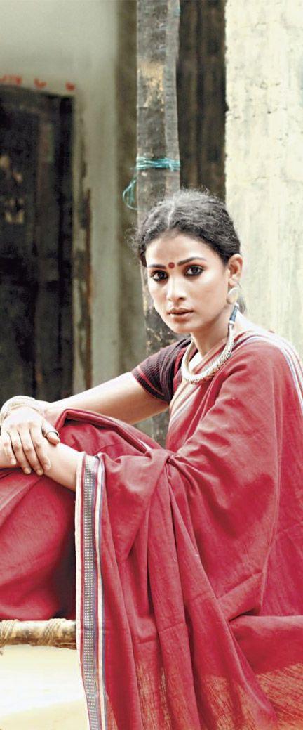 Malkha Saree (Malmal + Khadi), India's freedom fabric made from sustainable…