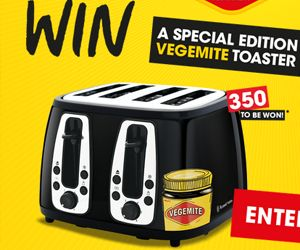 Win a toaster