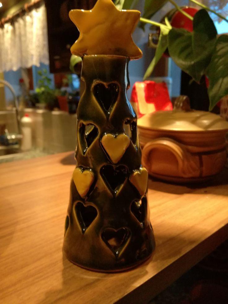 stromeček na čajovou svíčku