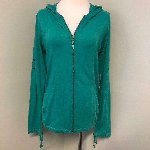 36.76$  Watch here - http://vixin.justgood.pw/vig/item.php?t=ztvfgg23990 - New Athleta S Hoodylicious Fiji Green Heather Zip Up Womens Hoodie Jacket 553250 36.76$