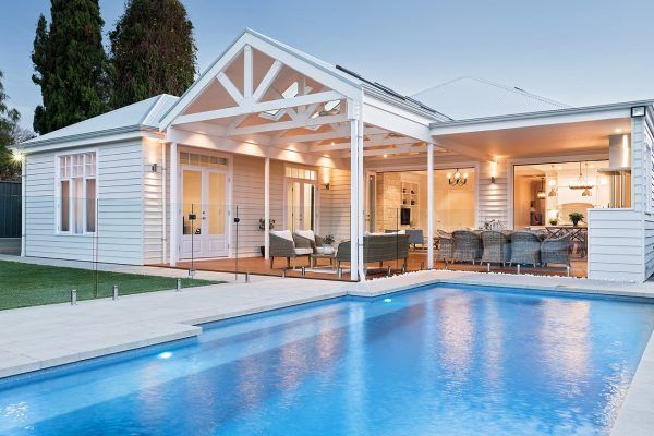 Canterbury Fibreglass Swimming Pools Narellan Pools Nz Fiberglass Swimming Pools Backyard Pool Landscaping Backyard Pool