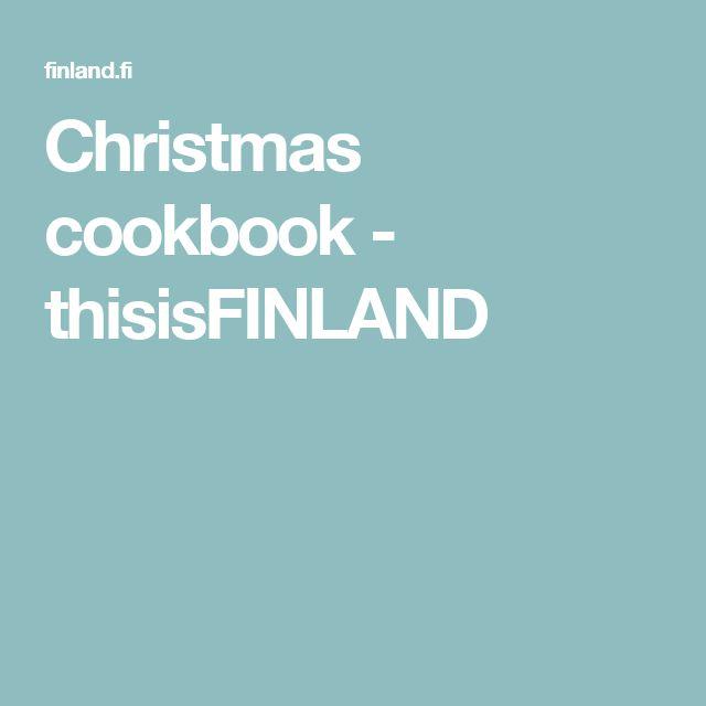 Christmas cookbook - thisisFINLAND