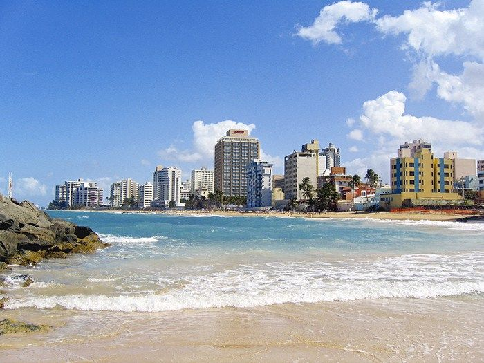 CONDADO: From what I saw this is the busiest tourist district of San Juan.  There are beautiful beaches, lots of shopping, and good restaurants.  Also, this is where you can find the nightlife featuring bars, night clubs, and casinos.