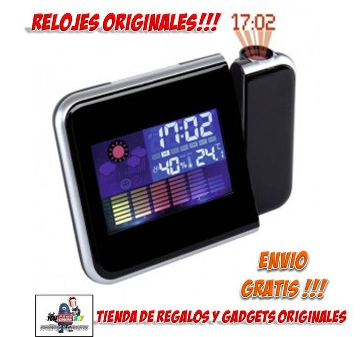 #RELOJES ORIGINALES #RELOJ #PROYECTOR #RELOJES BARATOS #DISEÑO #GADGETS #REGALOS Comprar reloj proyector muy original que proyecta la hora en el techo. Tienda online de venta de relojes originales a precios baratos con envío GRATIS!!! Relojes de pared, relojes de cocina, relojes de pulsera, relojes de silicona, despertadores y mucho más en nuestra tienda de regalos originales.