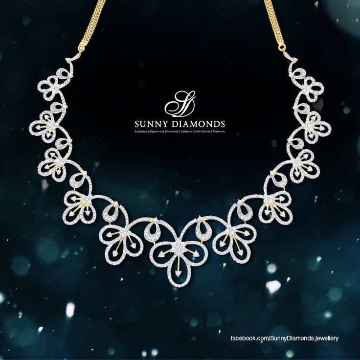 The Magnolia Necklace - the finest selection of internally flawless diamonds embodied into an exquisite Italian design. The necklace is an enchantment by itself. Visit our stores to experience it yourself..