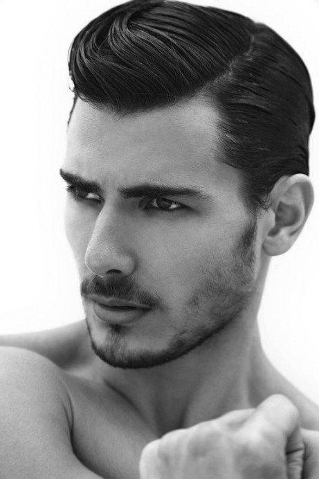 Frisuren Für Dickes Haar Männer Männer Frisuren Pinterest