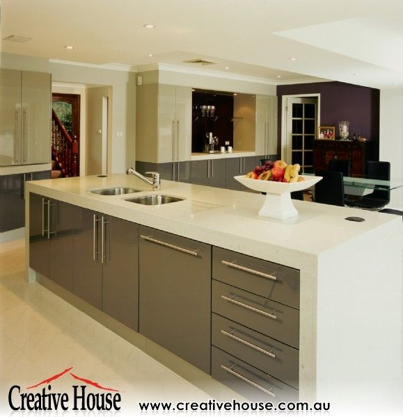 9 best kitchens appliance cabinets images on pinterest for Photo gallery kitchen designs