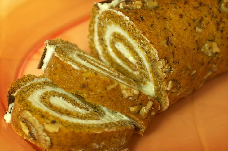 The Swell Life: My first Libby's Pumpkin Roll