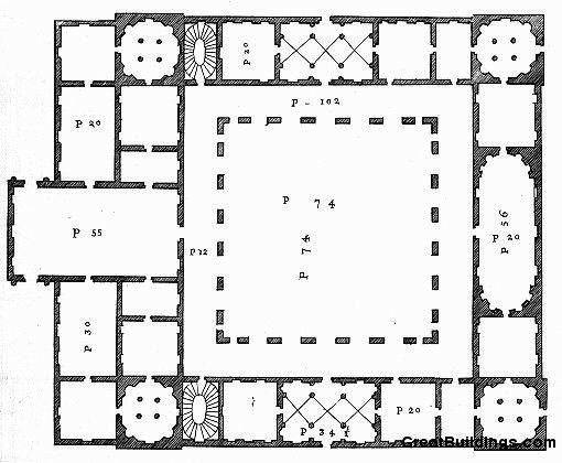 17 images about floor plans castles palaces on for Palazzo floor plan