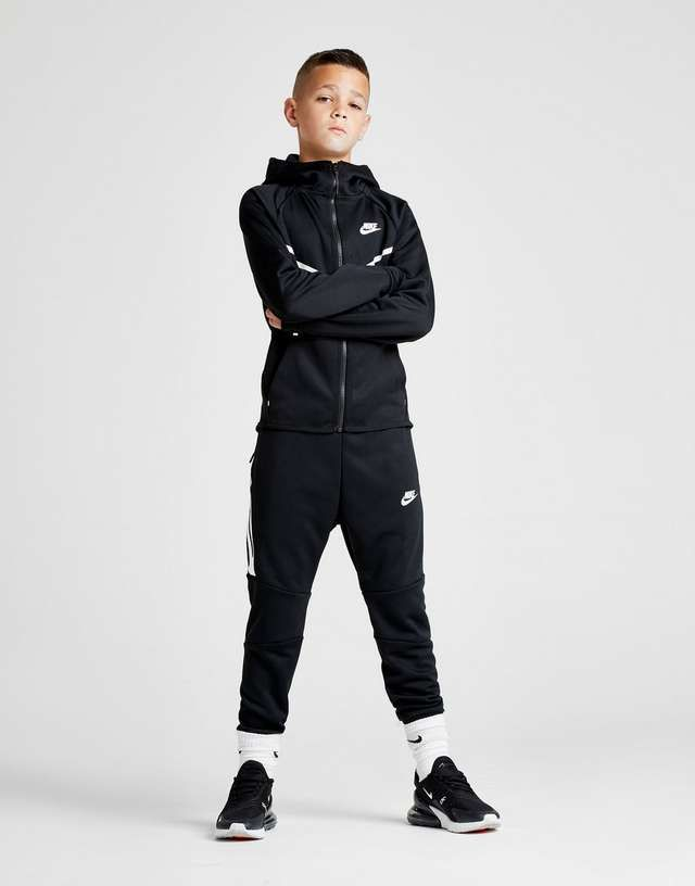 235f563c9 Nike Tech Poly Full Zip Hoodie Junior in 2019