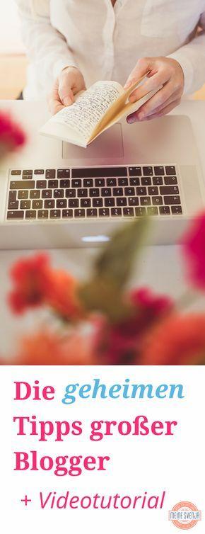 Erfolgreich bloggen auf deutsch - Die geheimen Tipps großer Blogger für einen erfolgreichen Blog - mit Videotutorial