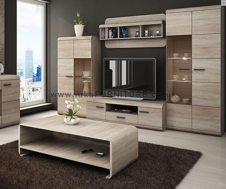 Modern TV Unit - ROMA - 260 wide