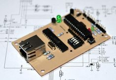 Picture of A credit card sized Ethernet Arduino compatable controller board (scheduled via http://www.tailwindapp.com?utm_source=pinterest&utm_medium=twpin&utm_content=post2823829&utm_campaign=scheduler_attribution)