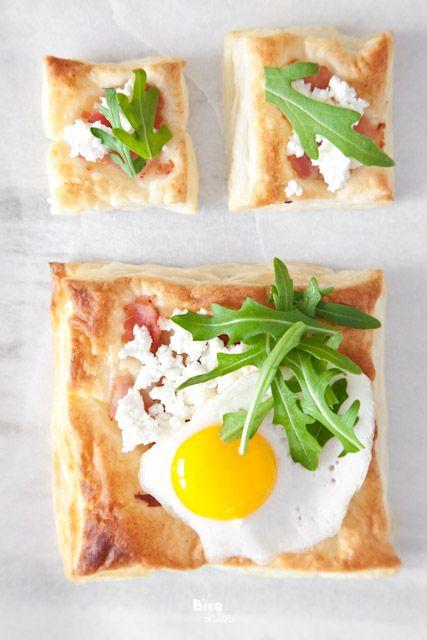 Breakfast tart squares
