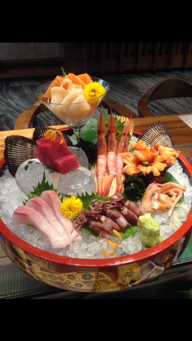 刺身盛 Sashimi on Ice