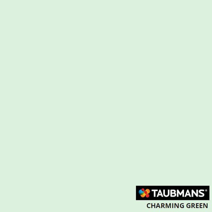 #Taubmanscolour #charminggreen
