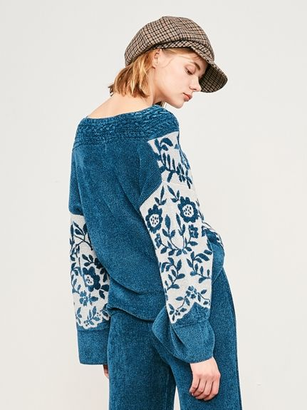モールジャガードプルオーバー(プルオーバー)|Lily Brown(リリーブラウン)|ファッション通販|ウサギオンライン公式通販サイト