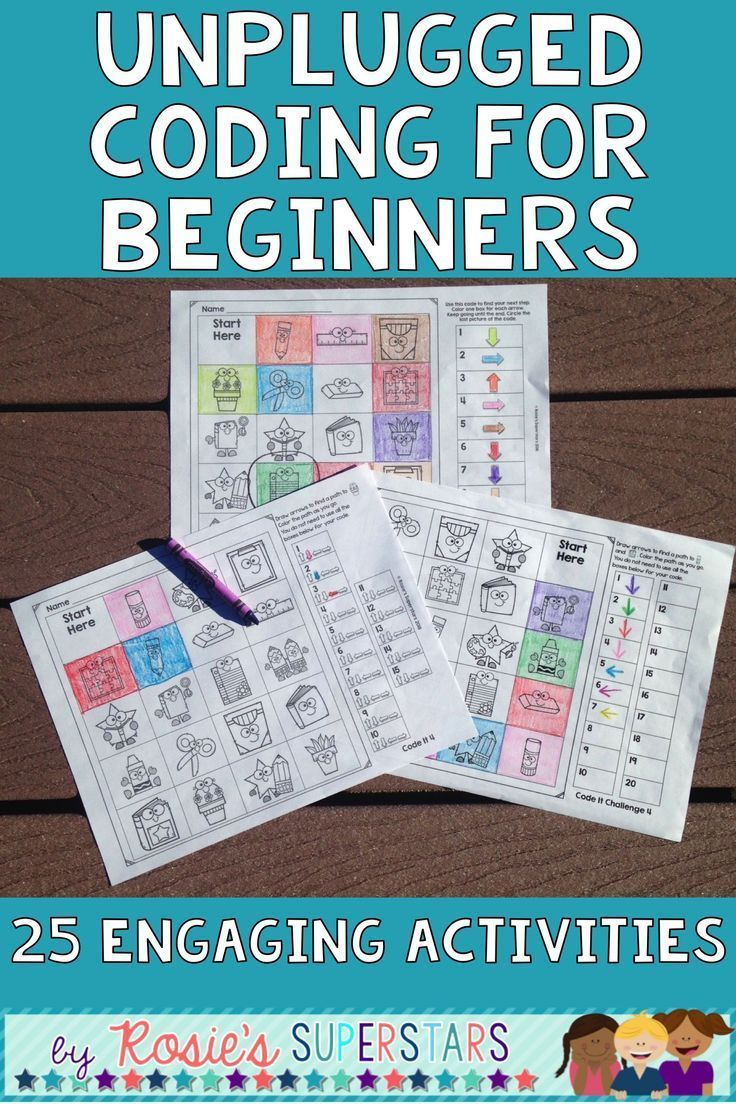 These Screen Free Coding Activities Are Great For Beginners To Learn The Basics Of Directi Coding For Beginners Coding Curriculum Elementary Teaching Resources