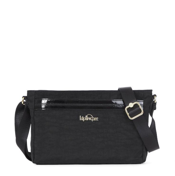 Jude Crossbody Bag - Black Patent Combo