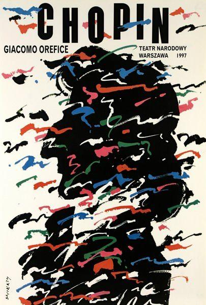 Frederic Chopin Fryderyk Chopin Swierzy Waldemar Polish Poster