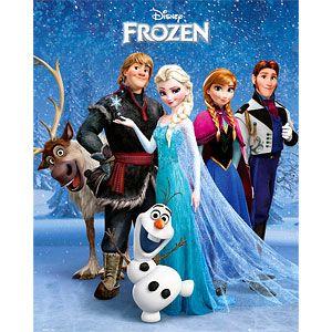 Disney Frozen Group Poster - Mini 40 x 50cm