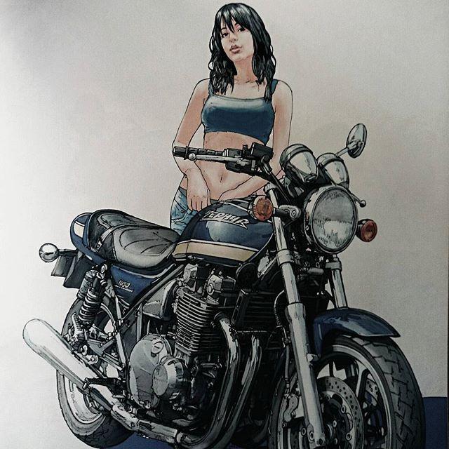 #ライダー#バイク乗り#バイク女子#女性ライダー#カワサキ#ゼファー1100 おはようございます❗ 朝から雨❗雨❗雨❗・・・ これってどうよ❗ オレが何をした⁉( ̄ー ̄)