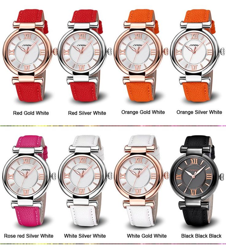 SINOBI Roman Number Bracelet Watches Women Fashion Watch 2016 Casual Leather Luxury Quartz Watch Ladies WristWatch Montre Femme Brand: SINOBI Style : Women Watch Model Number: 9548 Features : Roman Number & Nail Scale Fashion Simple Watch Movement: Imported Quartz Movement Band Length: 23.3cm Band Width: 1.65cm Dial Thickness: 0.99cm Dial Diameter: 3.62cm Net Weight: ...