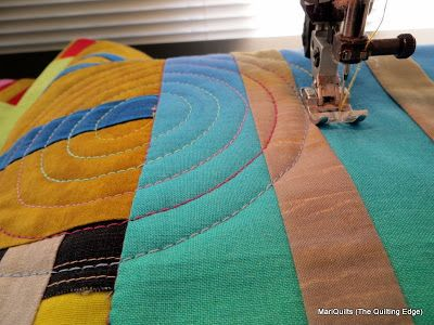 Quilting Spirals with a Walking Foot      When using a walking foot, I love the amount ofcontrol I have as I'm stitching, resulting inve...