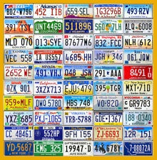 Set Of Usa License Plates From All 50 States Stu S Room License Plate Plates For Sale