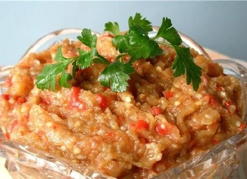 recipe: baklazhannaya ikra russian eggplant caviar [25]