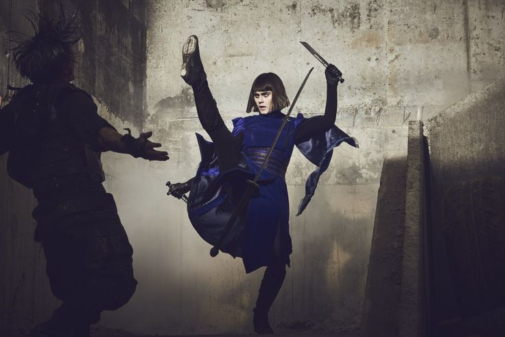 Into the Badlands Tilda | Ally Ionnides – Into The Badlands Season 2 Promoshoot & Stills