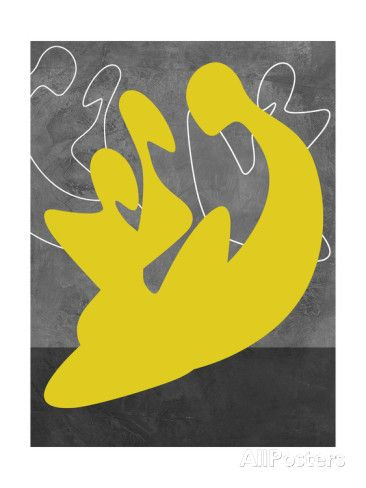 Yellow Lovers Affiches par Felix Podgurski sur AllPosters.fr