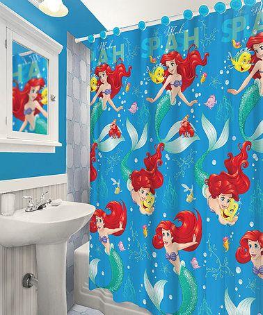 Curtains Ideas ariel shower curtain : 17 Best ideas about Little Mermaid Bathroom on Pinterest | Little ...