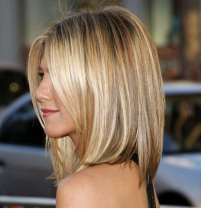 Jennifer Aniston - hair color
