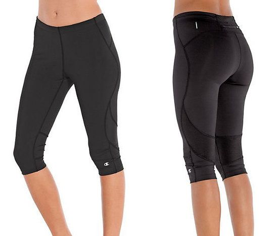 Champion Double Dry Knee Tights Clothes Running Tights