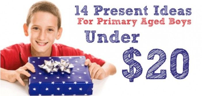14 Present Ideas For Primary Aged Boys Under $20
