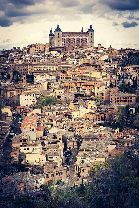 Ciudad de Toledo, en España