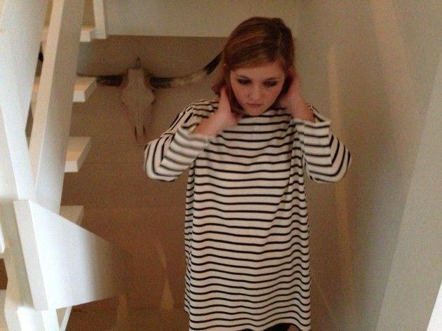 Håndarbeiden » Sy superenkel kjole eller genser - søm - sying - handmade - craft - sweater - dress