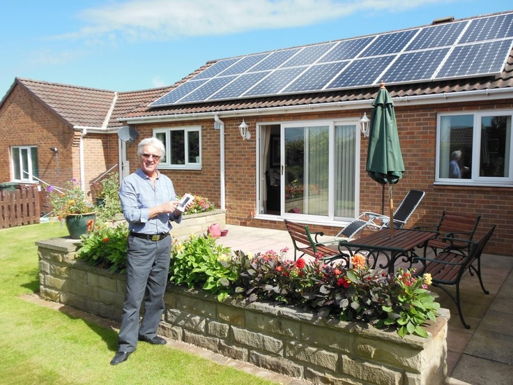 Comedy genius, Robin Colvill of the Grumbleweeds, shows us his new solar PV system.