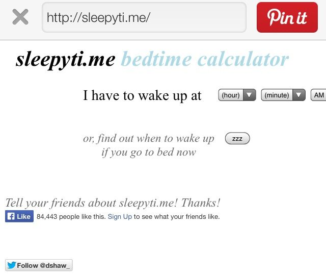 Best 25+ Sleep Calculator Ideas Only On Pinterest | Calculator
