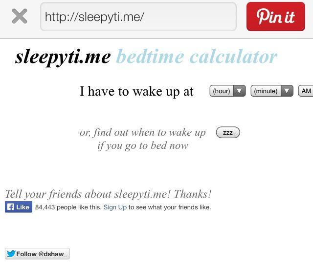 Best 25+ Sleep Calculator Ideas Only On Pinterest | Calculator