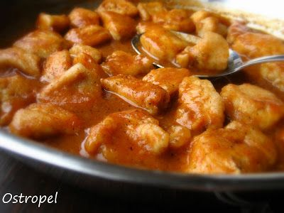 Home Cooking In Montana: Romanian Ostropel...Chicken with Garlicky Tomato Gravy
