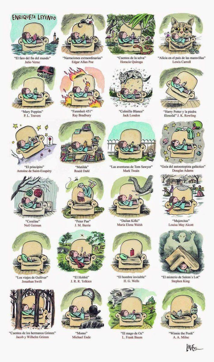Ricardo Siri Liniers: Enriqueta leyendo/Feliz día de libro (marzo 23, 2017)