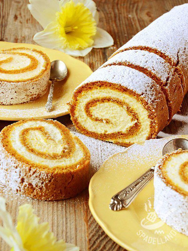 Rotolo alla crema di ricotta e arancia: una golosità tutta da divorare, che si prepara in poco tempo e dà grande soddisfazione con gli ospiti!