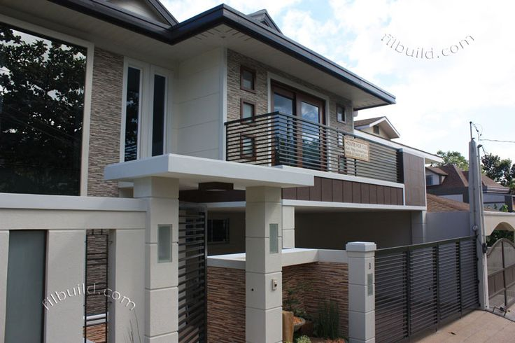 1000 images about philippine house designs on pinterest for Exterior design of 2 storey house