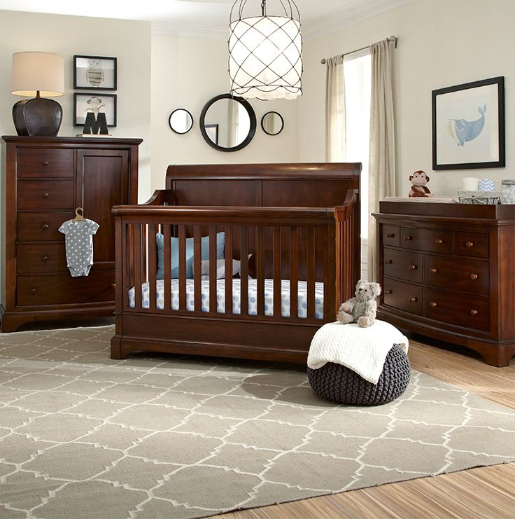 The Bertini Pembrooke Collection In A Dark Walnut Has Traditional Style Design That Is Sure