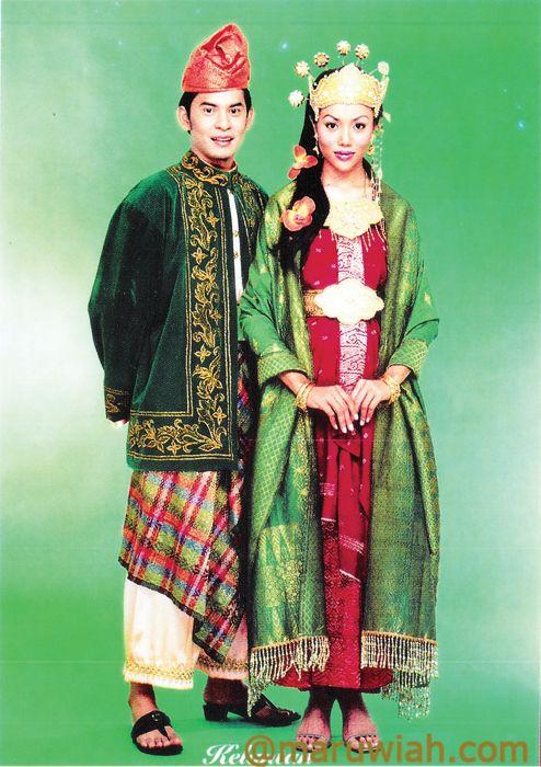 Pakaian Tradisi Kaum Semenanjung Malaysia | Maruwiah Ahmat