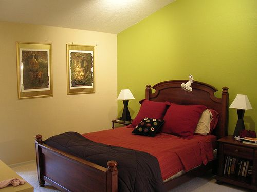 master bedroom accent wall color ideas