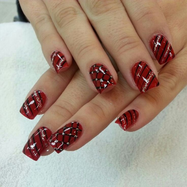 christmas nail designs | If you want to get this wonderful photo about Christmas Nail Designs ...
