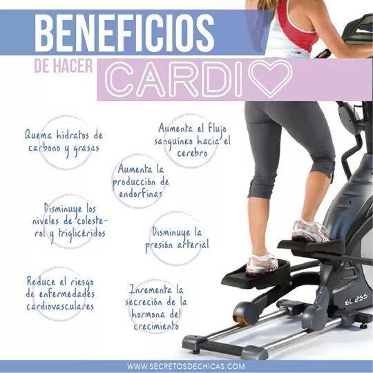 Beneficios de hacer cardio.